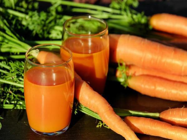 Nước ép cà rốt giúp giảm cân hiệu quả