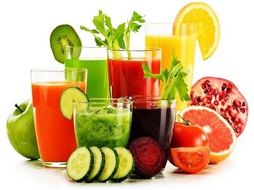Chú ý uống nước ép hoa quả vào thời gian thích hợp