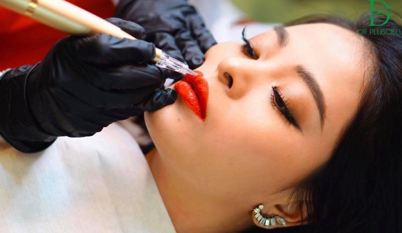 Sau khi phun môi cần kiêng những gì?