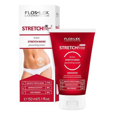 Kem Floslek Stretch Free Active Stretch Mark Preventing Cream giúp trị rạn da sau sinh
