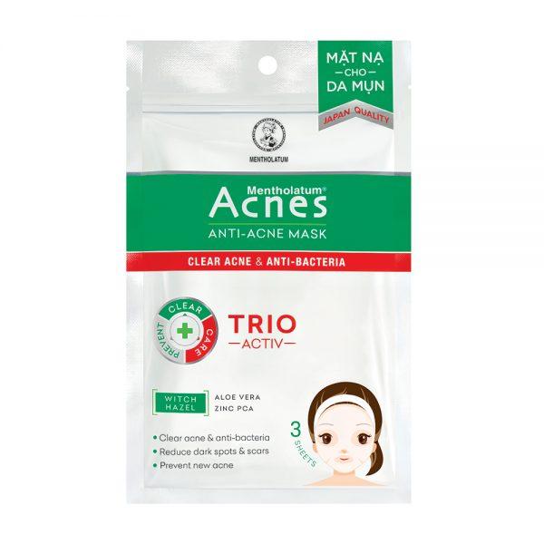 Anti Acne giúp da sáng mịn dần lên và ngừa mụn hiệu quả