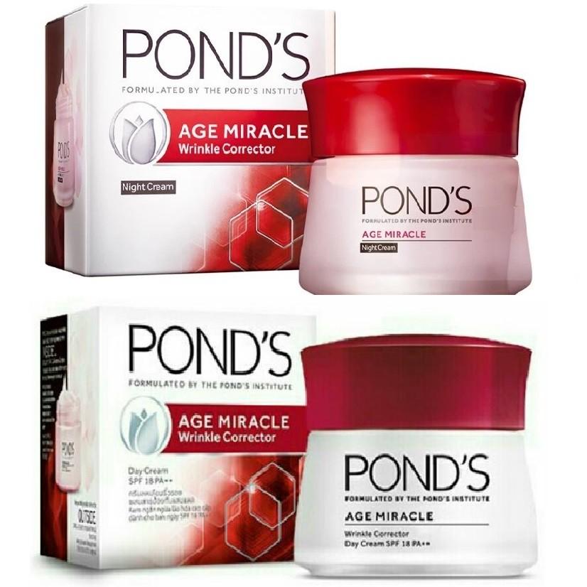 Bộ sản phẩm Pond's Age Miracle cung cấp độ ẩm cho da, chống oxy hóa