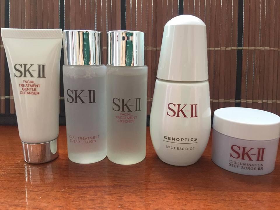 Bộ sản phẩm SK-II đặc trị nám, tàn nhang