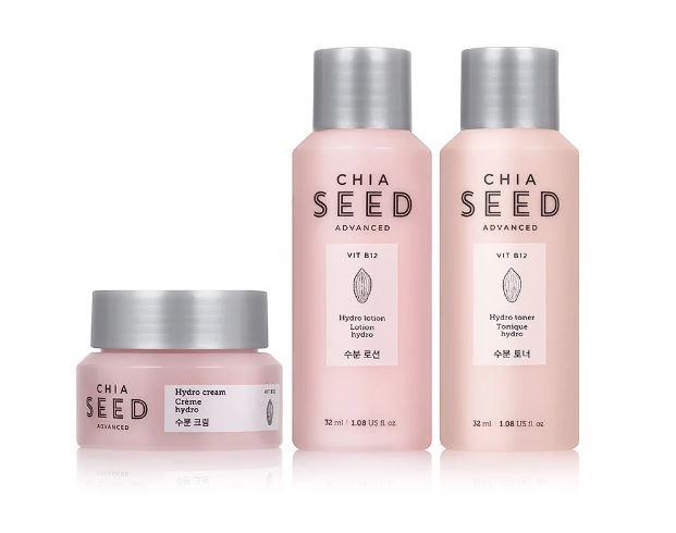 The Face Shop Chia Seed Travel Kit cũng dành cho khô