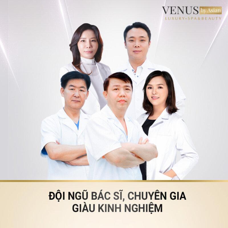 Venus by Asian quy tụ những bác sĩ, chuyên gia làm đẹp hàng đầu Việt Nam và châu Á