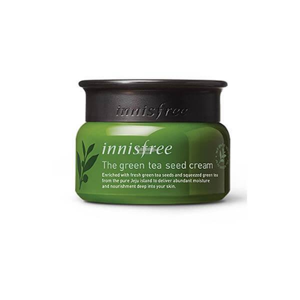 Innisfree Green Tea Seed Cream có công dụng dưỡng ẩm hiệu quả