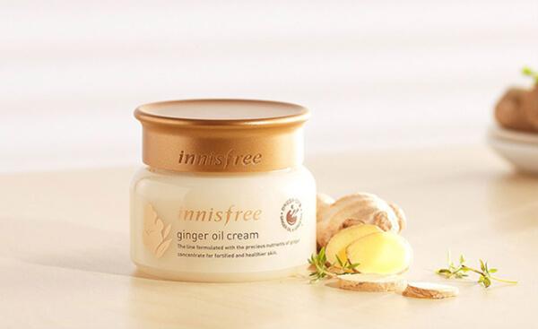 Kem dưỡng ẩm Innisfree Ginger Oil Cream chuyên dụng dành cho da khô thiếu nước