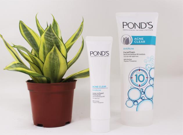 Pond's Acne Clear có tác dụng ngăn ngừa mụn, giảm viêm