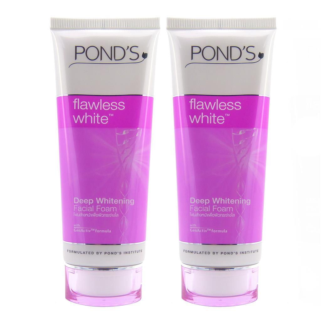 Bộ sản phẩm Pond's Flawless White sử dụng công thức DermaPerfect™