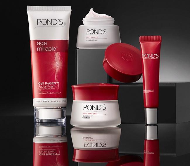 Pond's là nhãn hiệu chuyên sản xuất các sản phẩm làm đẹp