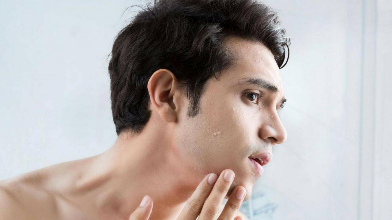 Nam giới cũng cần thiết phải có bộ chăm sóc da mặt cho nam