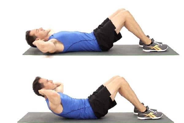 Giảm mỡ bụng bia là chăm chỉ tập luyện với các bài tập gập bụng, gập bụng ngược và gập bụng mô phỏng động tác đạp xe đạp
