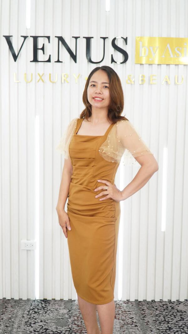 Chia sẻ của khách hàng khi giảm béo tại Venus By Asian