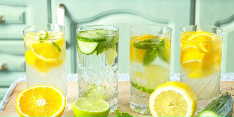 Thưởng thức nước detox thơm ngon từ cam