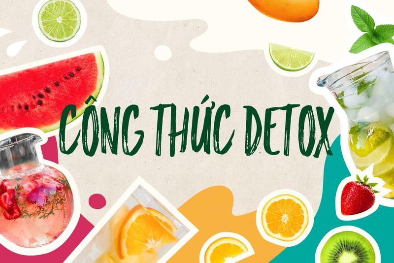 Uống detox giảm mỡ bụng sau sinh cực hiệu quả