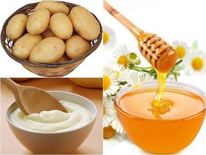 Khoai tây có rất nhiều tác dụng với làn da của chúng ta