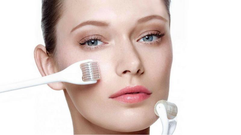 Đây là phương pháp lăn nhiều mũi kim nhỏ tác động lên vùng da bị rạn.