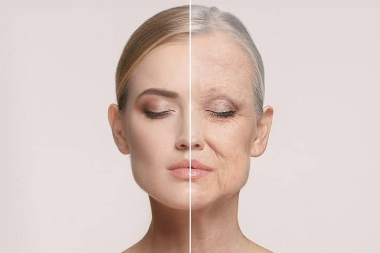 Phụ nữ bắt đầu lão hóa từ sau 25 tuổi và có biểu hiện rõ nhất ở tuổi 40