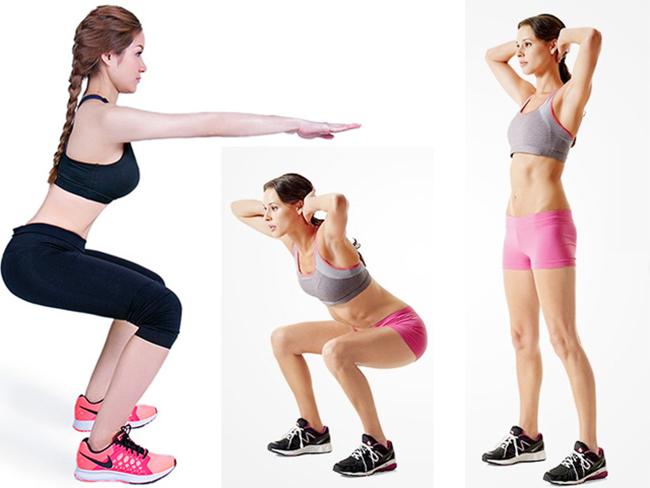 Một số bài tập gym giảm cân cho nữ