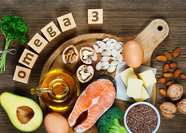 Axit béo Omega 3, 6, 9 có nhiều trong: các loại cá, dầu tự nhiên