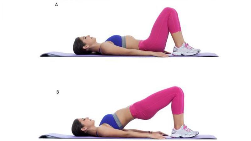 Bài tập thể dục giảm béo mông tại nhà