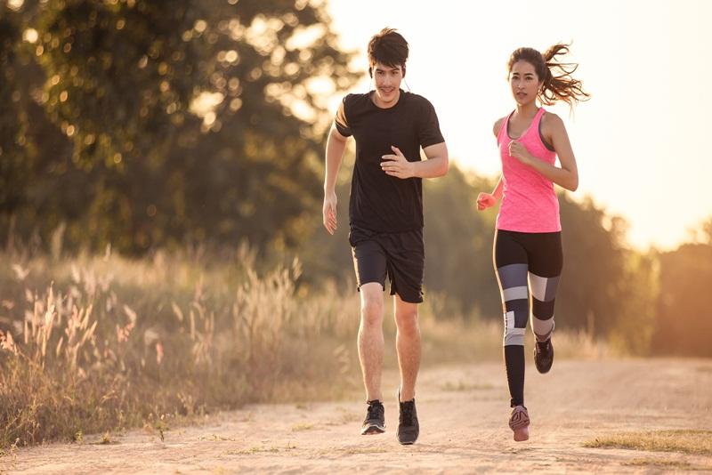 Bạn cần phải lượng sức mình, chạy với tốc độ phù hợp đảm bảo sức khỏe