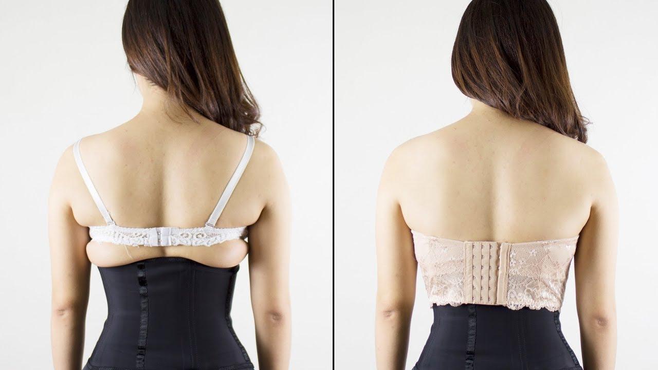 Mặc áo ngực đúng size sẽ phần nào che đi được khuyết điểm cơ thể