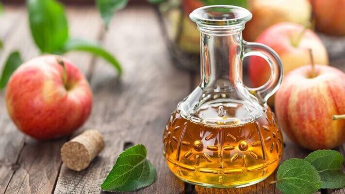 Giấm táo có tác dụng hỗ trợ điều trị các chứng rối loạn da thường xuyên