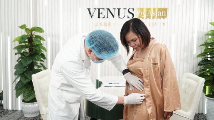 Chị Thu Hằng bị rạn ghé thăm do quá trình tăng giảm cân mất kiểm soá
