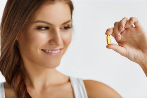 Vitamin E giúp mờ rạn nhanh chóng