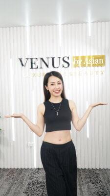 Chị Nhung Nguyễn tự tin khoe làn da xinh đẹp sau nhiều năm