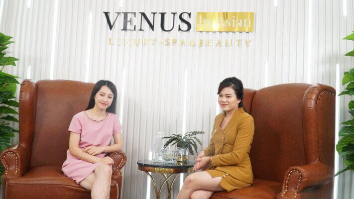 Sau khi trị rạn tại Venus by Asian, chị Nhung cũng nhiều lần bật mí cho những ai đang khổ sở vì rạn sau sinh