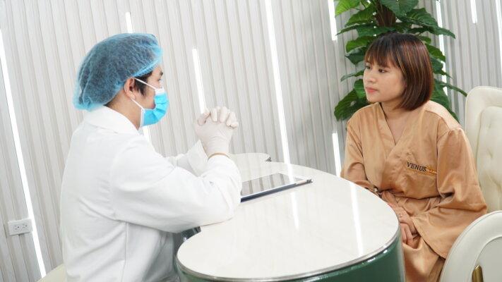 Một góc phòng tư vấn 1:1 cùng bác sĩ thẩm mỹ hàng đầu