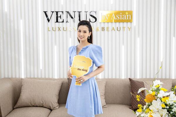Người đẹp Lã Thanh Huyền làm đẹp tại Venus by Asian và trẻ trung xinh đẹp hơn
