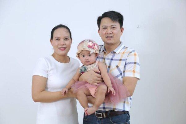 Hiếm muộn nhiều năm, niềm vui tới với vợ chồng chị Hạnh là niềm an ủi cho cả gia đình