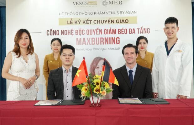 Giảm béo đa tầng MaxBurning được chuyển giao tại Phòng khám Venus by Asian