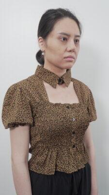 Hình ảnh chị Trang Trần trước khi làm Tái sinh đa tầng: già hơn tuổi vì khuôn mặt hốc hác và rãnh cười sâu hoắm