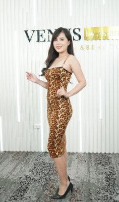 """Nhật Thu sau khi """"giảm béo đa tầng Max Burning"""" và lần trở lại Venus by Asian tái khám"""