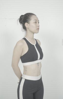 Chị Hoà tự tin khoe vóc dáng gọn gàng, cân nặng giảm 15kg sau 2 tuần